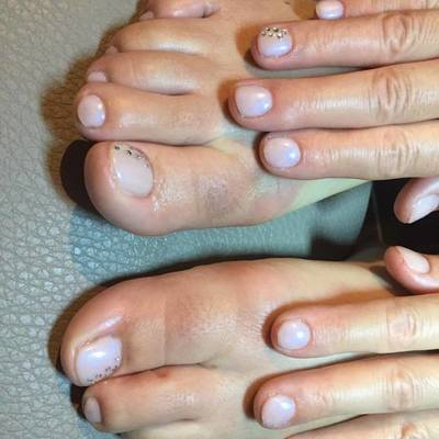 Nagels enzo  - Pedicure